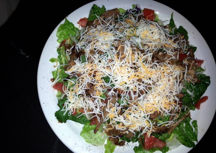 20 Minute Dinner Ideas Super Quick Homemade Mexican roast beef salad