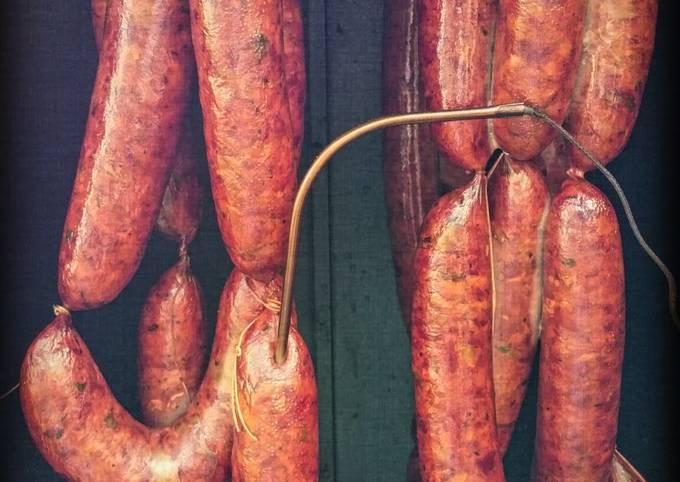 Cajun Smoked Duck Sausage