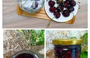 Cherry ngâm đường - Cherry ngâm rượu