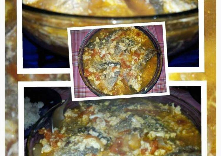 AMIEs SARCIADONG ISDA (fish with egg sauce)
