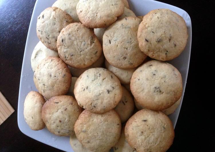 Lemon & Lavender Cookies