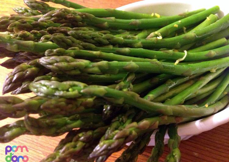 How to Prepare Delicious Preparing/ Steaming Asparagus