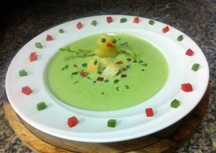 How to Prepare Speedy K's Peas Soup