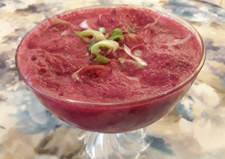 Recipe of Perfect Sig's Beetroot Hot Cooler Shot Soup