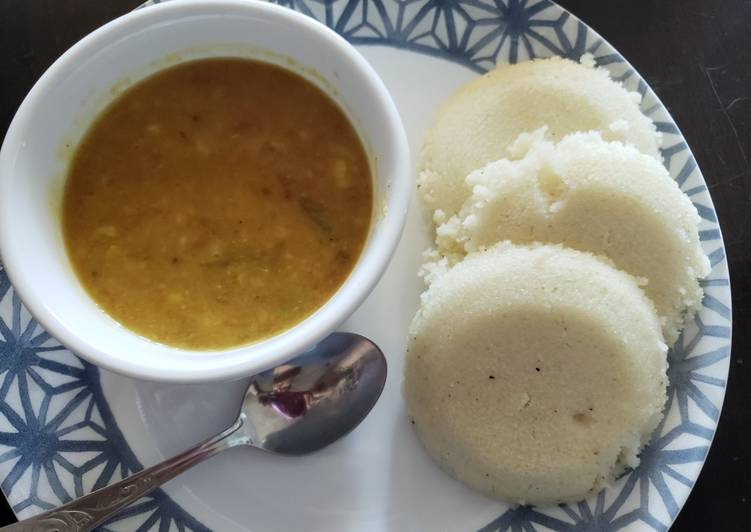 Easy Recipe: Yummy Healthy IDLI SAMBAR😋