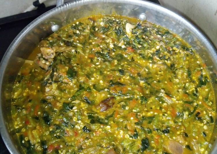 Delicious Okro Soup