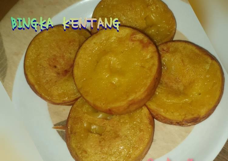 Bingka kentang mini