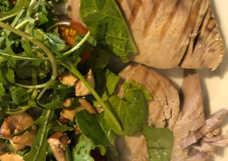 Step-by-Step Guide to Make Homemade Tuna & Salad