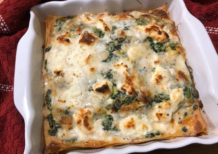 Lasagnetta spinaci  e ricotta