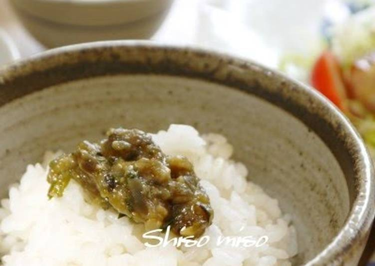 My Mother'sMiso Shiso Leaf for Cooked White Rice