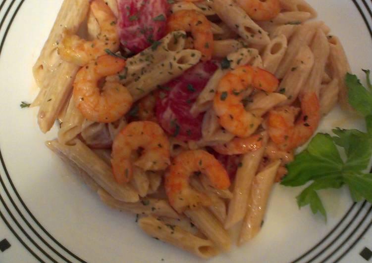 Mamas Shrimp Pasta