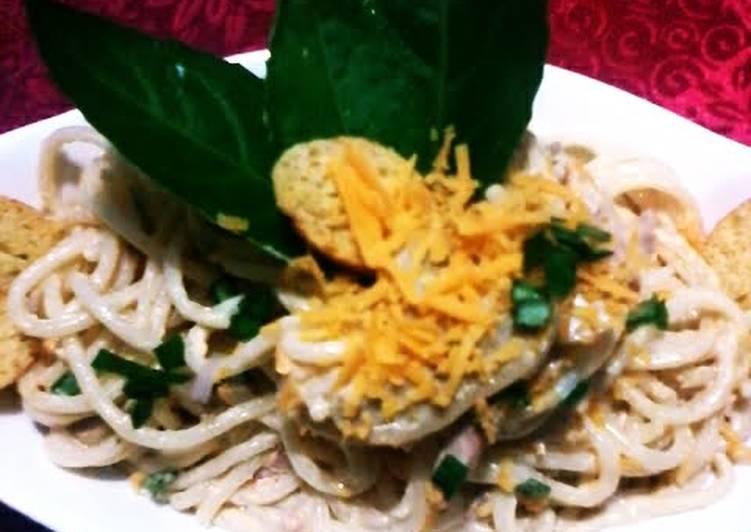 Recipe: Perfect Tuna de Rossi in White Sauce