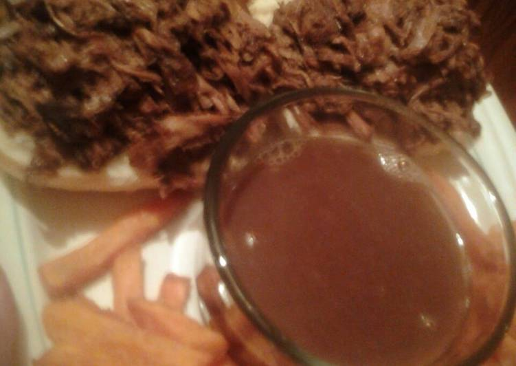 Recipe of Super Quick Homemade Amazing French Dip Sandwiches with Au Jus