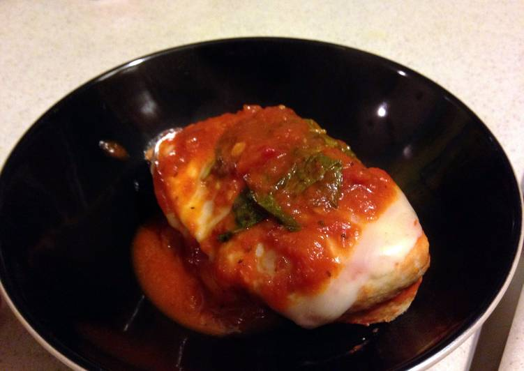 Daniel's Healthy Baked Chicken Parm