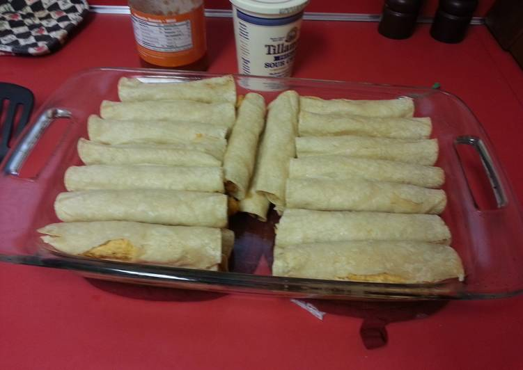 Easiest Way to Make Tasty Taquitos