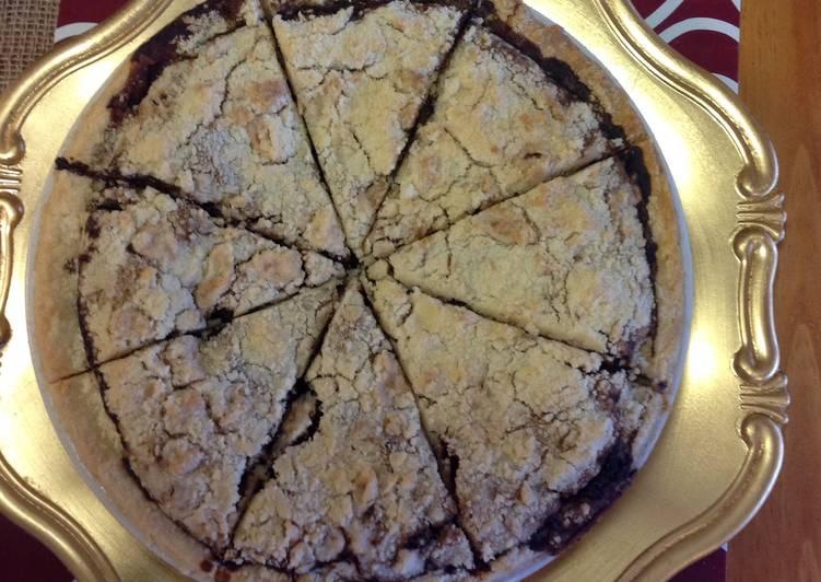 Chocolate Shoo Fly Pie