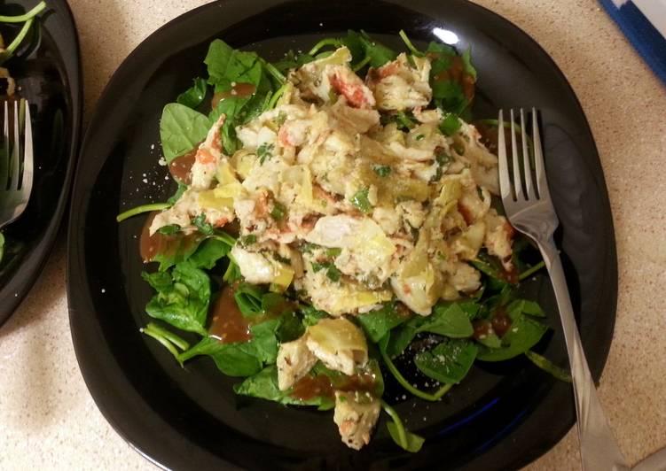 Easiest Way to Prepare Ultimate crab salad