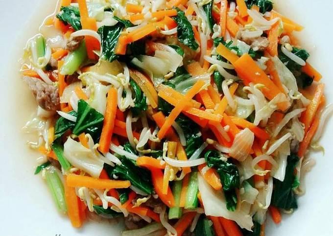 Resep Yasai Itame Tumis Sayur Jepang Oleh Susan Mellyani Cookpad