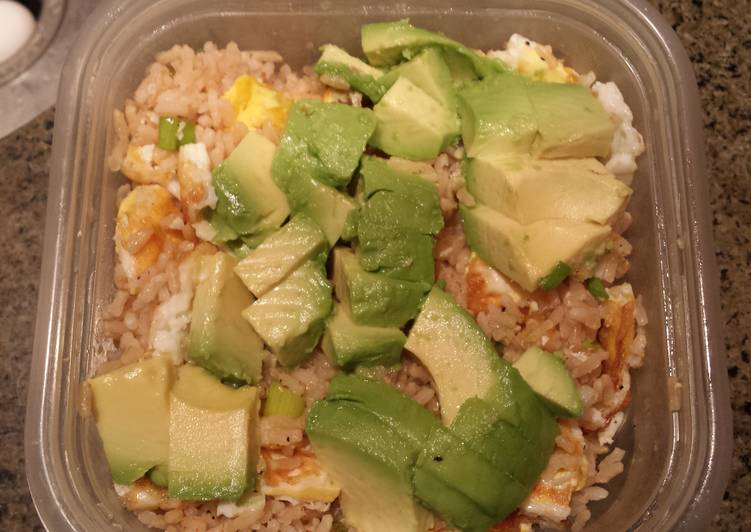 Living Greener for Good Health By Eating Superfoods Rice Bowl