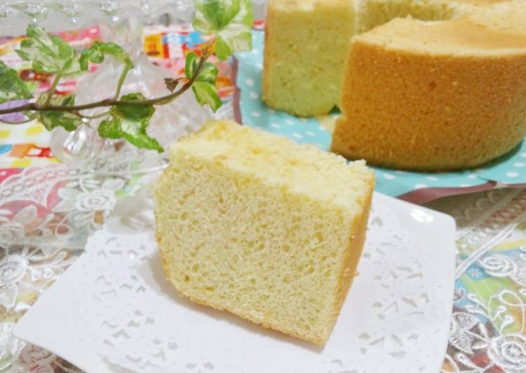 30 Minute Easiest Way to Make Spring Soufflé Chiffon Cake
