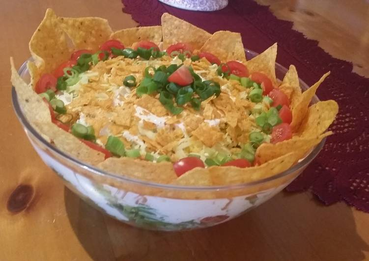 Simple Way to Make Favorite Simple Nacho salad