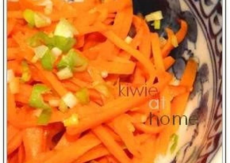 Carrot Namul (Korean-style Salad)