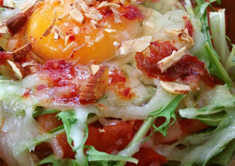 Step-by-Step Guide to Make Perfect Kimchi Tofu Gratin with Tomatoes