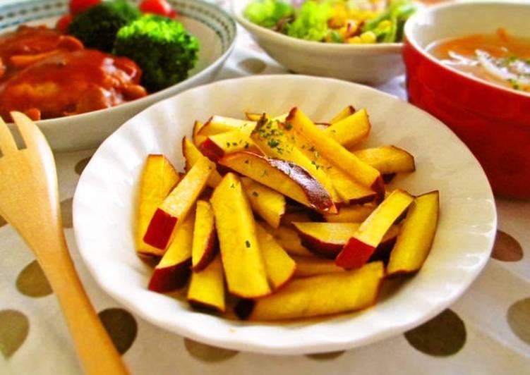Simple Side Dish: Sweet Potato Sautéed with Lemon Butter