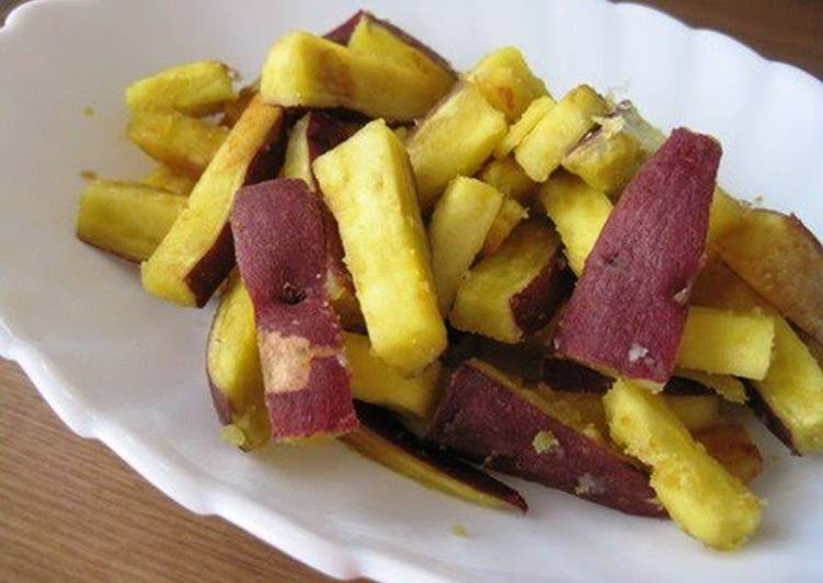 Sautéed Sweet Potatoes with Garlic