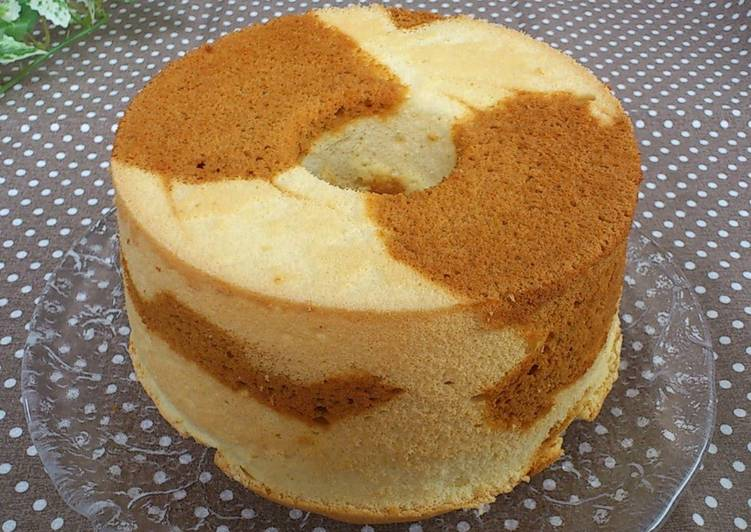 Eating 14 Superfoods Is A Great Way To Go Green For Better Health Marble Chiffon Cake (Salted Caramel)