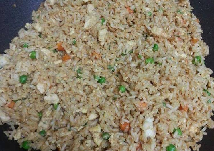 Easiest Way to Prepare Delicious Chicken Fried Rice