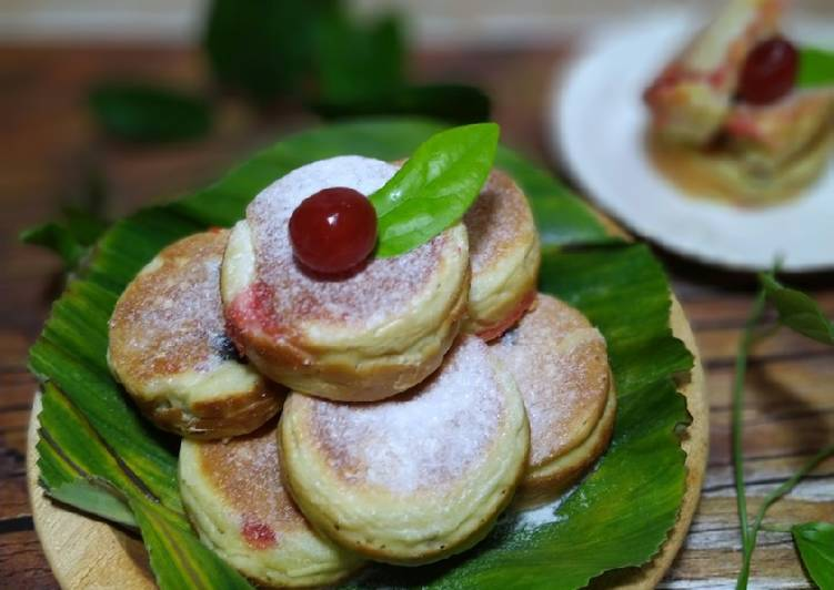 Kue Khamir Kismis, Keju, Selai Strawberry (85) - cookandrecipe.com