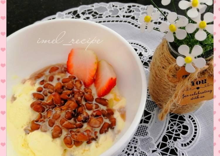 Kacang Merah & ice cream - resepipouler.com