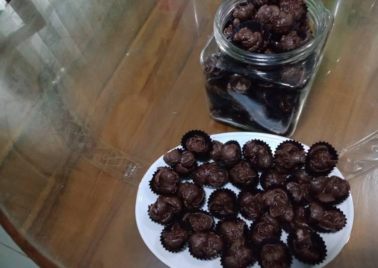COOKIES CHOCO CRUNCH RECIPE - DAPUR MARISA