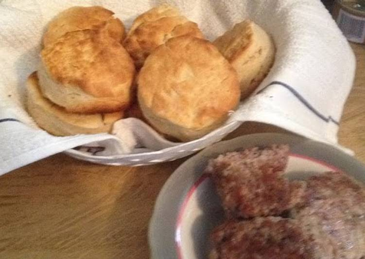 Grandma's homemade biscuits