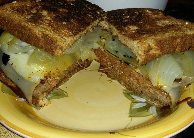 Recipe: Appetizing Patty Melt