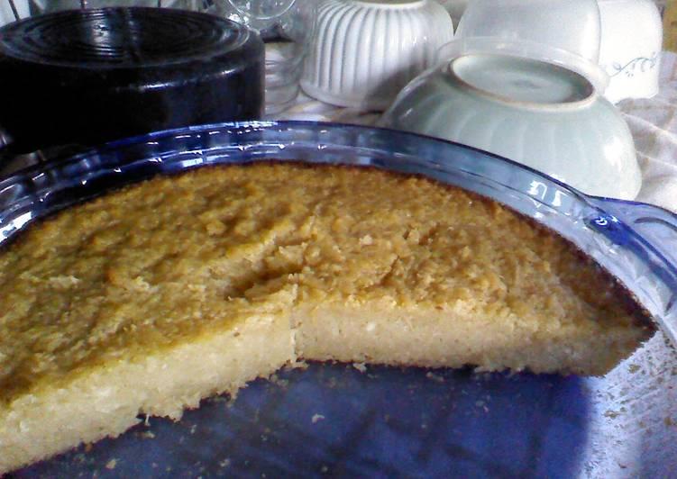 Try Using Food to Improve Your Mood Cassava Cake (Malaysian Binka Ubi)