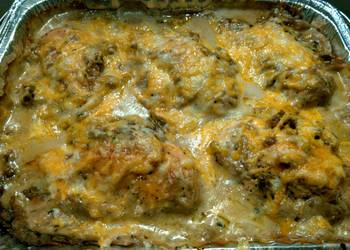 Easiest Way to Prepare Appetizing Stuffing and Italian Sausage Stuffed Chicken