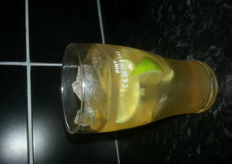 Iced Peppermint tea