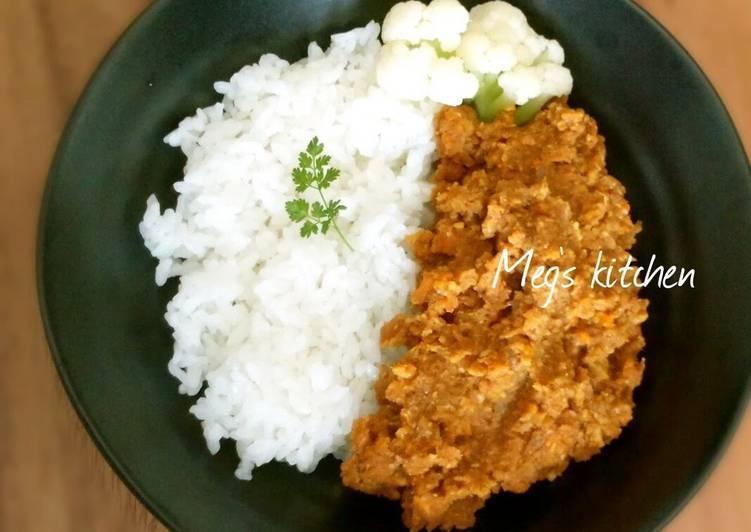 Okara Dry Curry - Laurie G Edwards