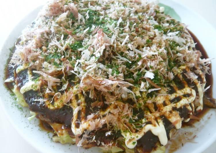 Steps to Prepare Speedy Osaka Okonomiyaki
