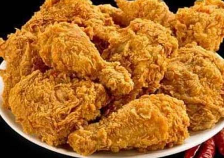 Ayam krispy rumahan