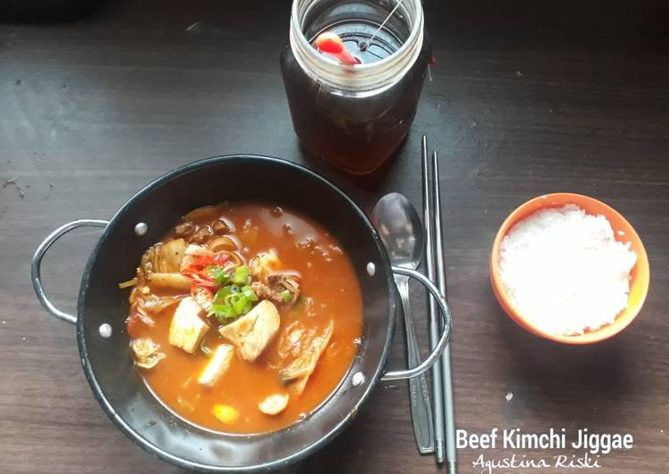 Beef Kimchi Jiggae