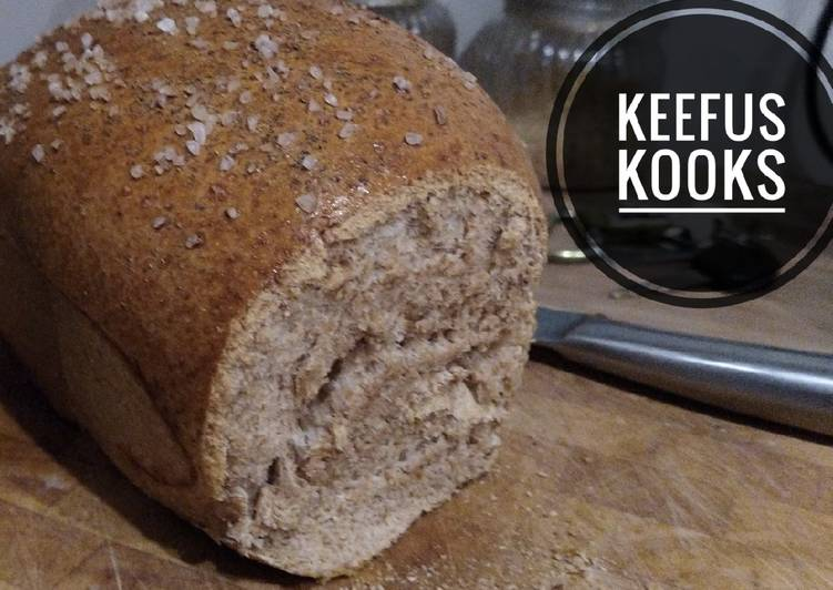 Simple Way to Prepare Perfect Easy Wholemeal Loaf