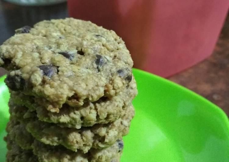 Oatmeal Chocochip Cookies