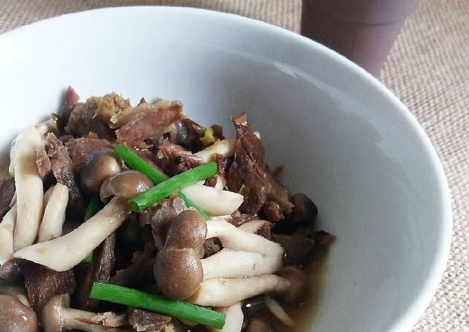 Daging Goreng Bunashimeji #FayeKusairi #Cendawan