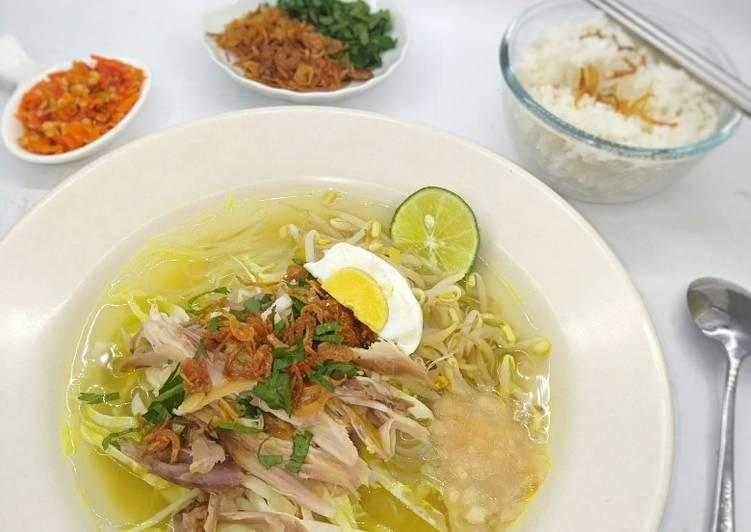 Soto Ayam Kampung (Lamongan) - cookandrecipe.com