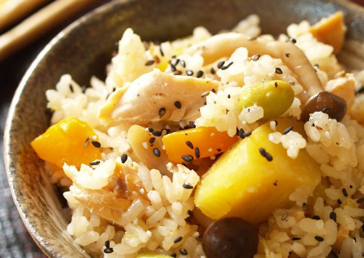 Rice with Colorful Autumn Vegetables (Gomoku Takikomi Gohan), Finding Healthful Fast Food