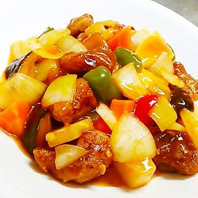 Healthy Sweet And Sour Pork Made Without Deep Frying Recipe By Cookpad Japan Cookpad