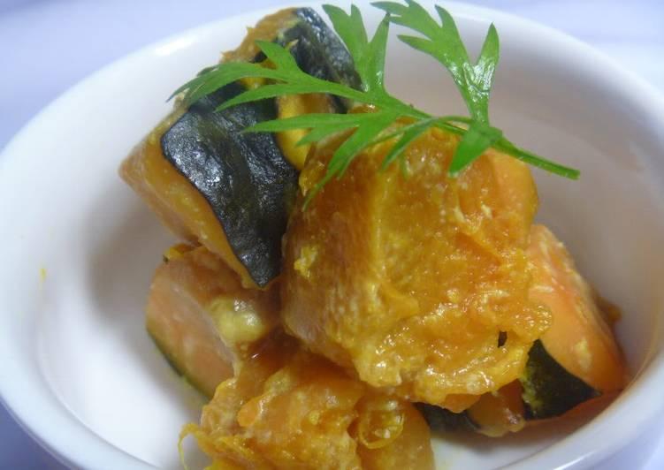 Grandmother's Dinner Ideas Quick Macrobiotic Soy Milk-Simmered Kabocha Squash